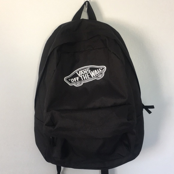 "NWOT - Black Vans ""Off The Wall"" Backpack"